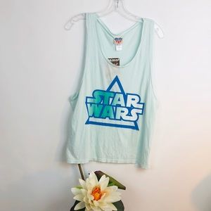 Junk Food | Star Wars printed tank top sz M